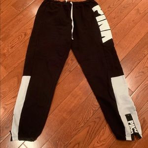 Colour block chic PINK joggers